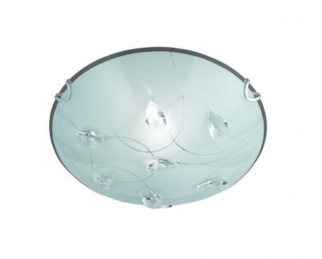 Plafoniera Quadrata E27 : Plafoniera d h e vetro satinato decori swarocki