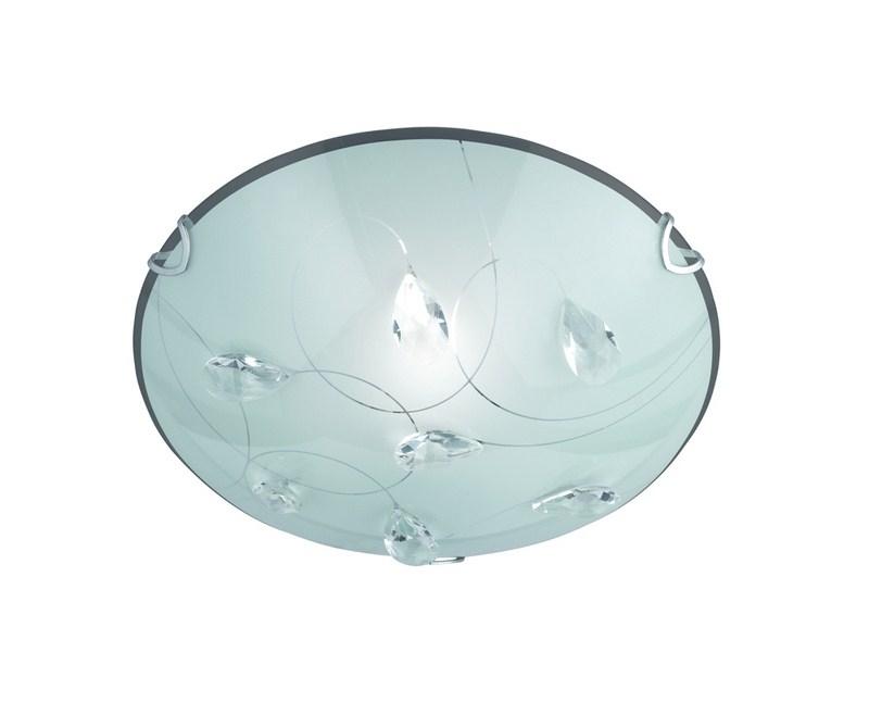 Plafoniere In Vetro Satinato : Plafoniera in vetro satinato sogno pl vetreria vistosi